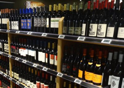 Electronic Shelf Labels Wine and Liquor