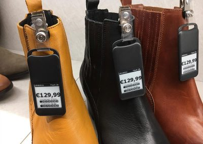 Shoe Department Electronic Labels